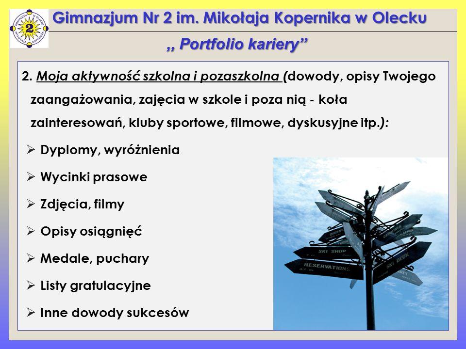 Gimnazjum Nr 2 im.Mikołaja Kopernika w Olecku 2.