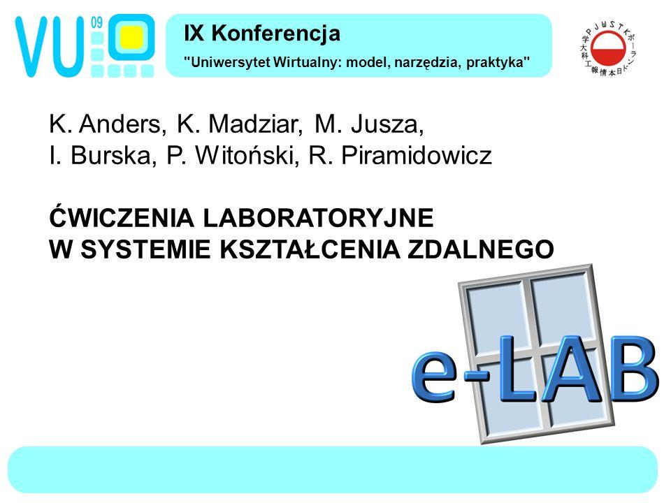 IX Konferencja Uniwersytet Wirtualny: model, narzędzia, praktyka K.