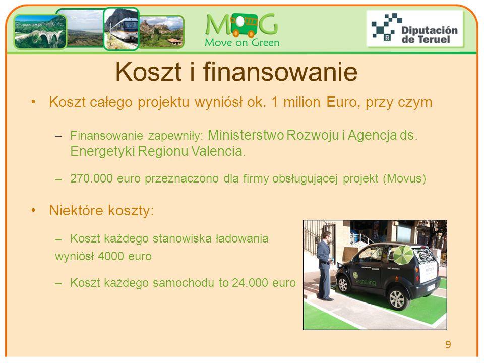 Your logo Here Koszt i finansowanie Koszt całego projektu wyniósł ok. 1 milion Euro, przy czym –Finansowanie zapewniły: Ministerstwo Rozwoju i Agencja