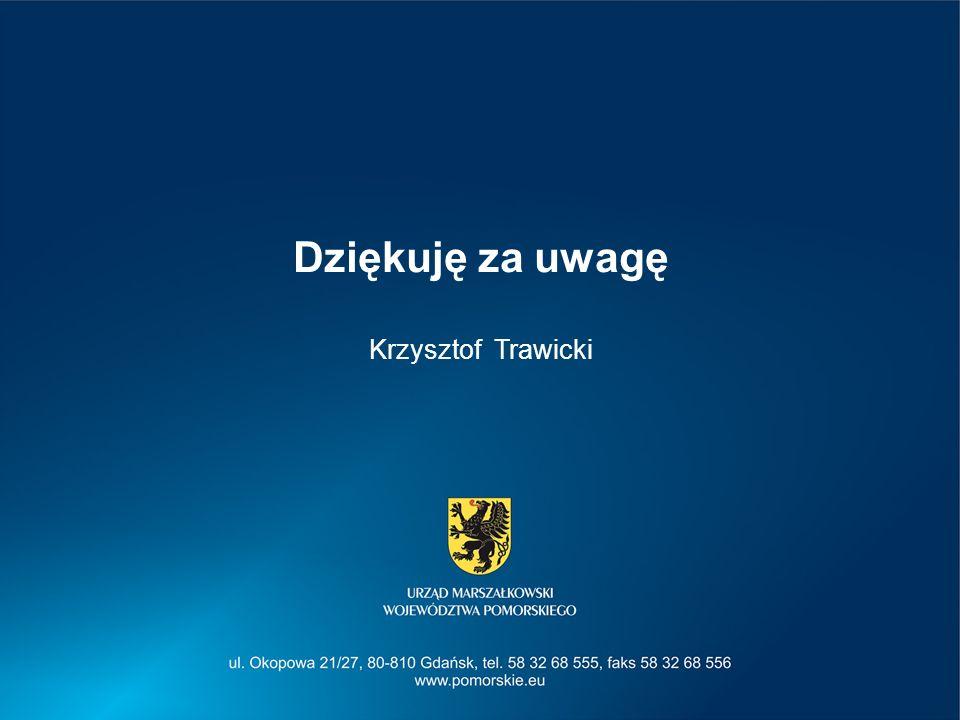 Dziękuję za uwagę Krzysztof Trawicki