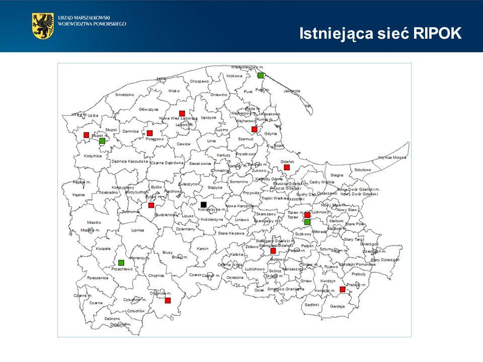 Zagospodarowanie odpadów komunalnych odbywać się będzie w istniejących RIPOK, których moce przerobowe są wystarczające do przetworzenia wytwarzanych w województwie pomorskim odpadów komunalnych.