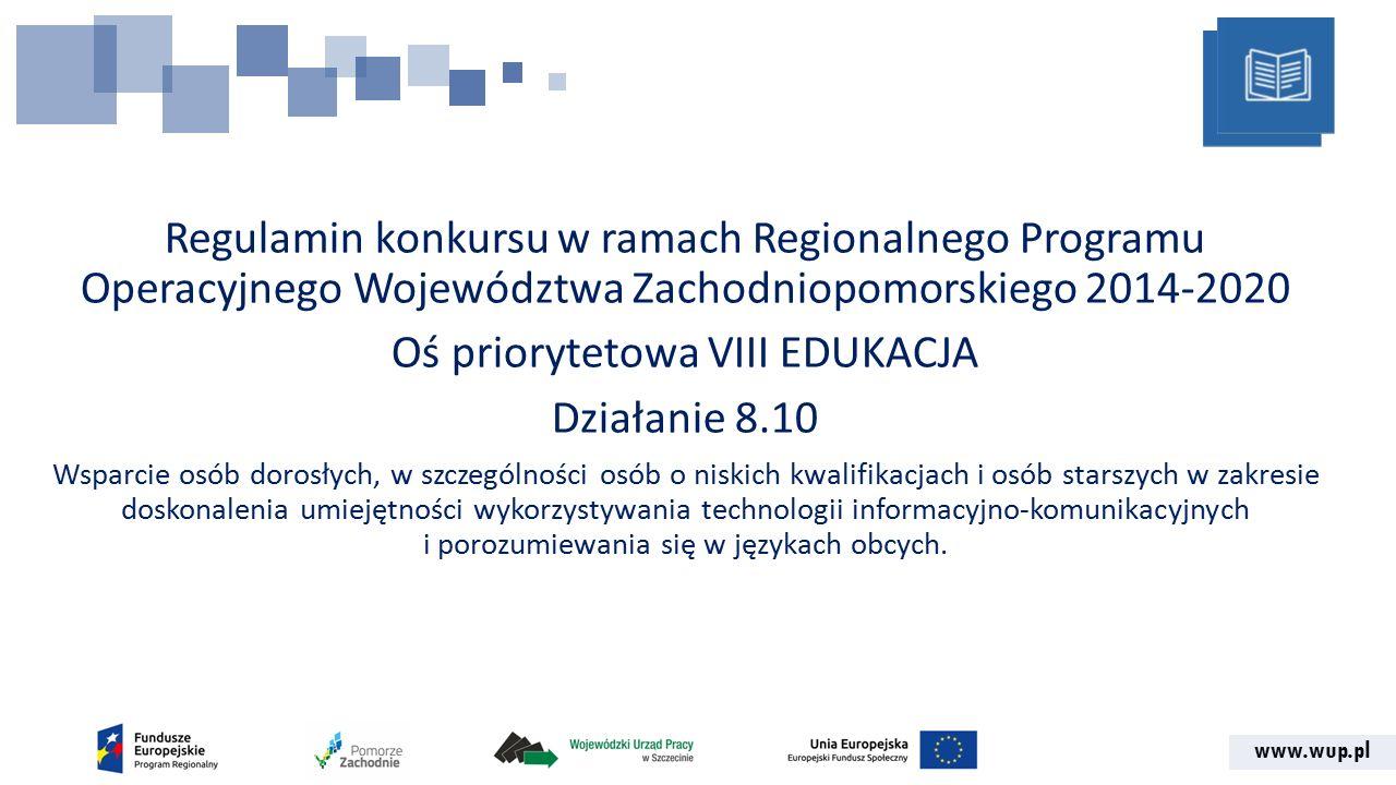 www.wup.pl Serwis Beneficjenta Regionalnego Programu Operacyjnego Województwa Zachodniopomorskiego 2014-2020 Formularz wniosku składa się ze strony tytułowej i 10 sekcji oznaczonych literami od A-J, z których każda podzielona jest na podsekcje oznaczone literą sekcji i kolejnym numerem.