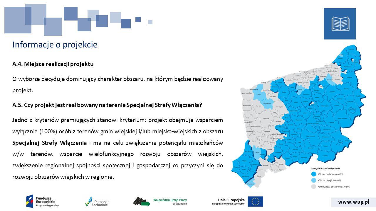www.wup.pl Informacje o projekcie A.4.