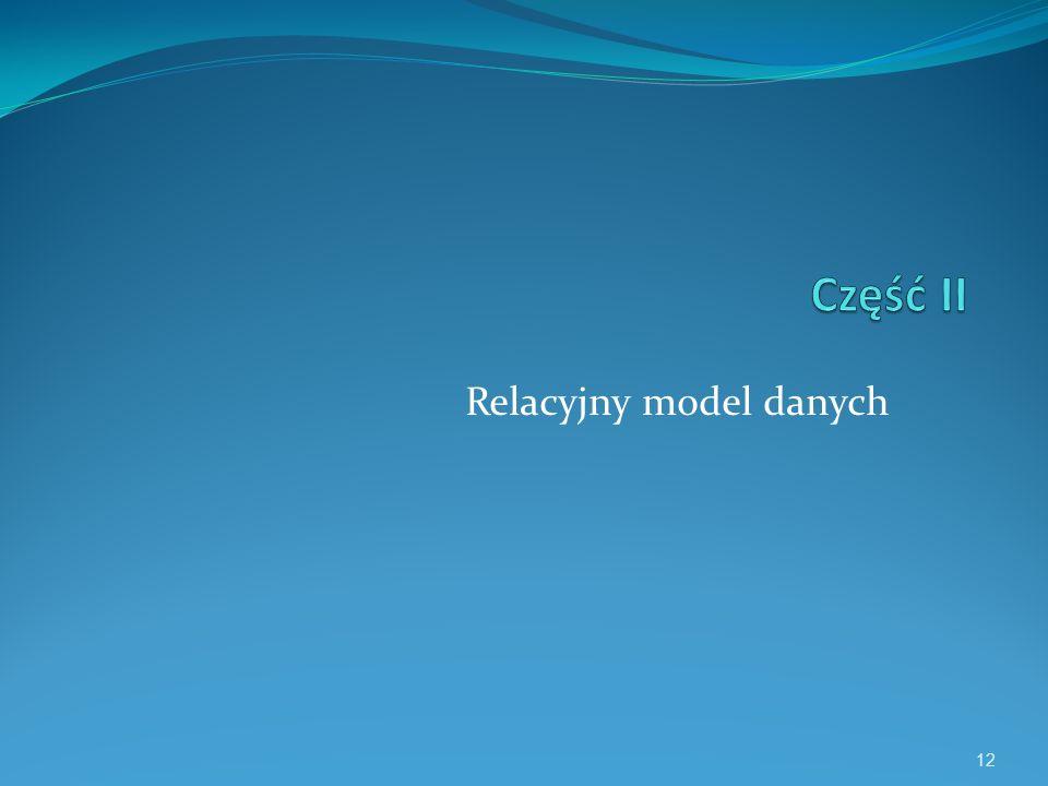 Relacyjny model danych 12