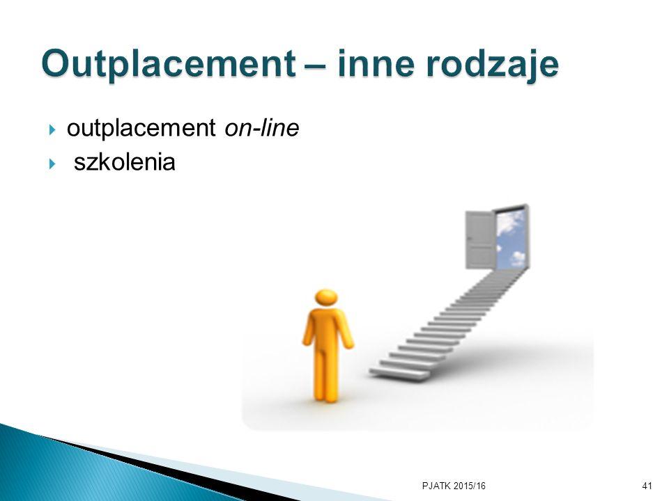  outplacement on-line  szkolenia PJATK 2015/1641