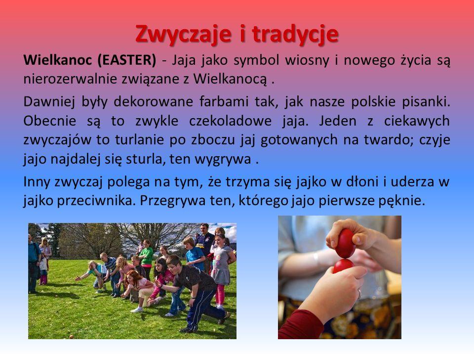 Wielkanoc (EASTER) - Jaja jako symbol wiosny i nowego życia są nierozerwalnie związane z Wielkanocą. Dawniej były dekorowane farbami tak, jak nasze po
