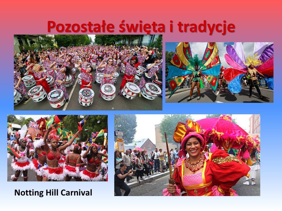 Notting Hill Carnival Pozostałe święta i tradycje
