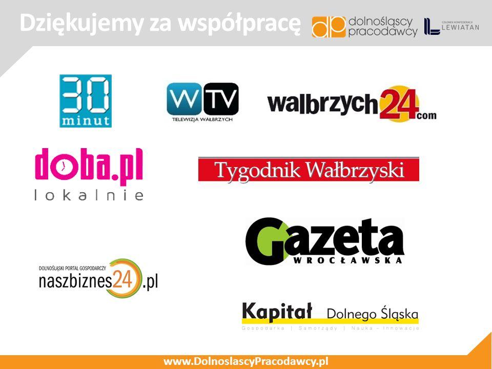 Dziękujemy za współpracę www.DolnoslascyPracodawcy.pl