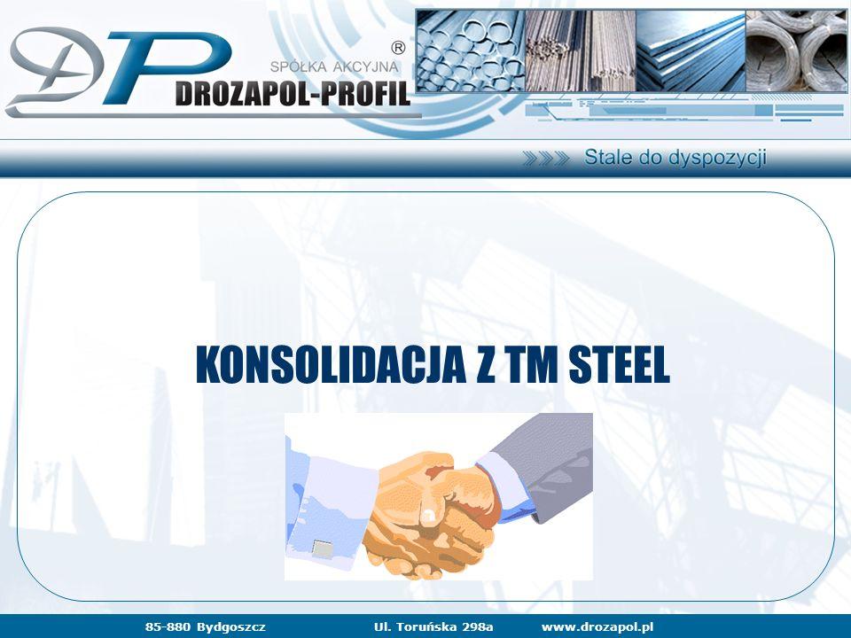 www.drozapol.pl85-880 BydgoszczUl. Toruńska 298a KONSOLIDACJA Z TM STEEL