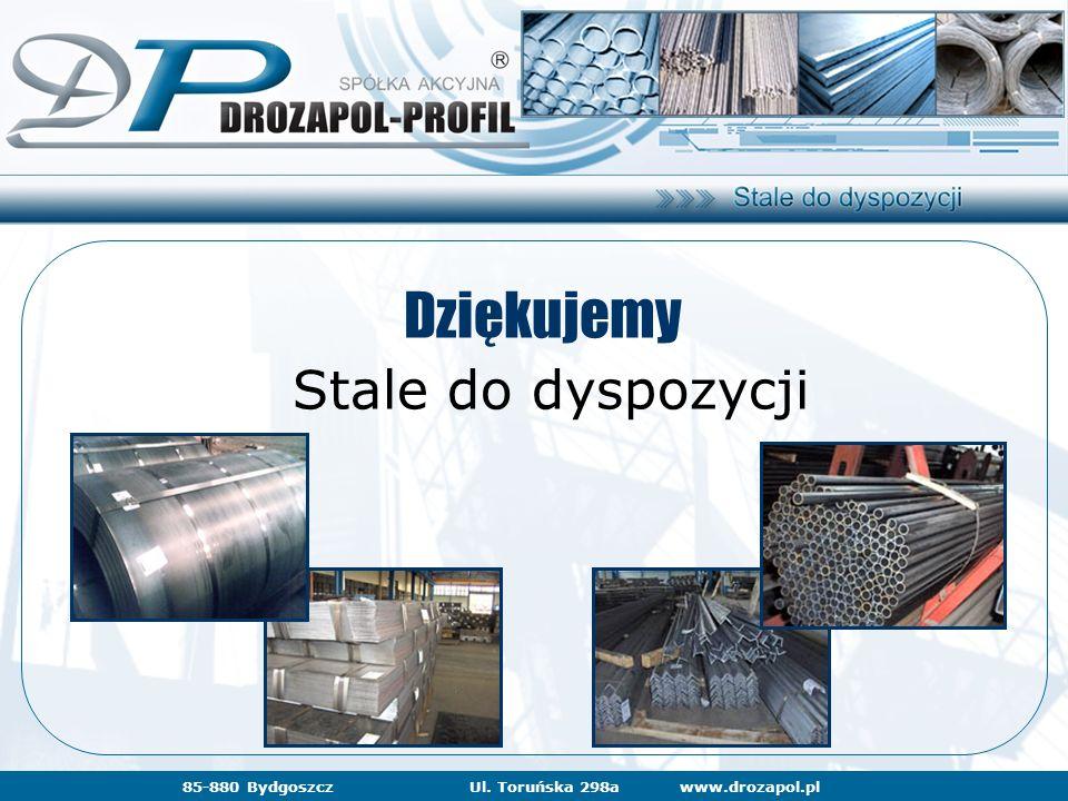 www.drozapol.pl85-880 BydgoszczUl. Toruńska 298a Dziękujemy Stale do dyspozycji
