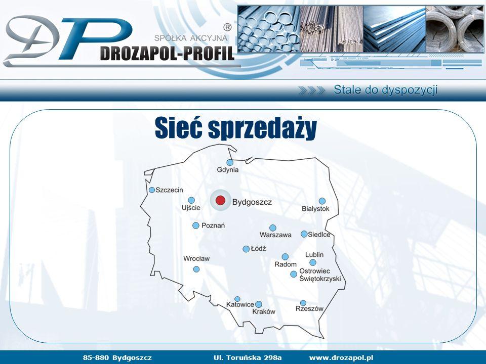 www.drozapol.pl85-880 BydgoszczUl. Toruńska 298a Sieć sprzedaży www.drozapol.pl85-880 BydgoszczUl. Toruńska 298a