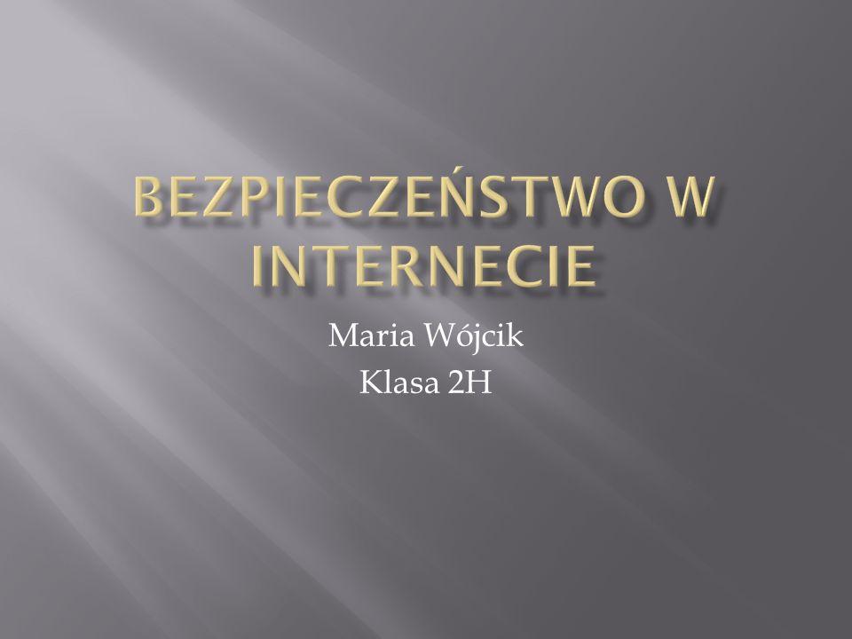 Maria Wójcik Klasa 2H