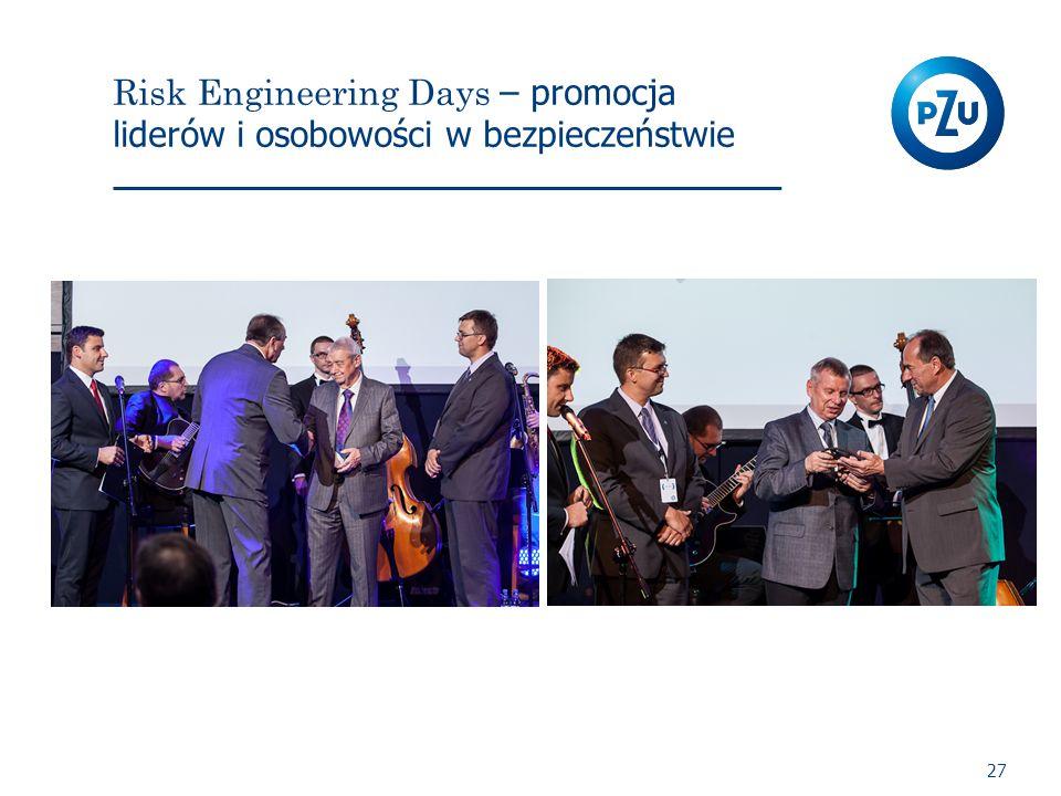 Risk Engineering Days – promocja liderów i osobowości w bezpieczeństwie 27