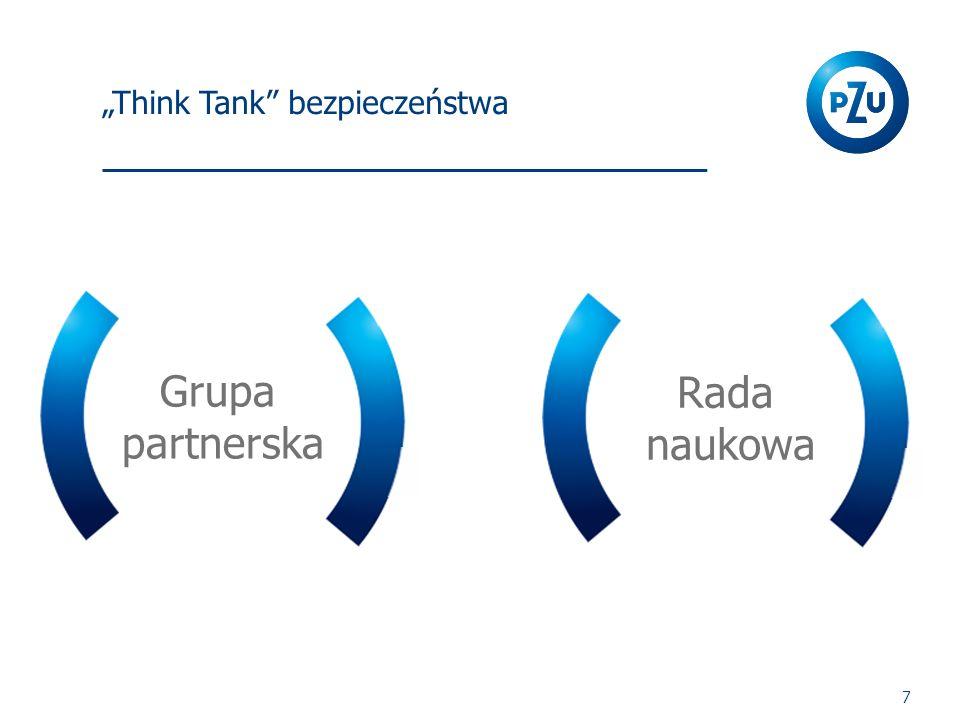 """""""Think Tank"""" bezpieczeństwa 7 Grupa partnerska Rada naukowa"""