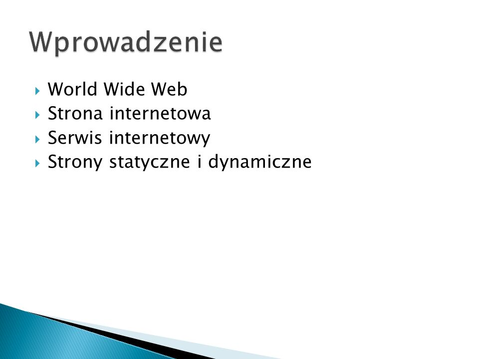  Co to jest HTTP.