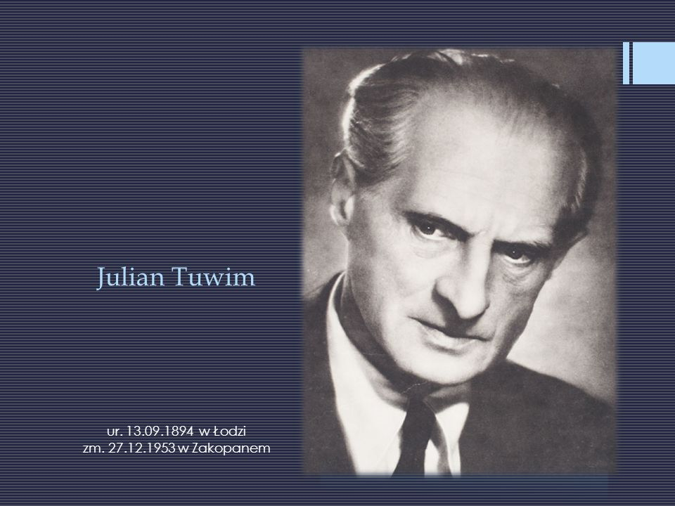 Dane biograficzne Poeta, pisarz, autor skeczy, librett operetkowych i tekstów piosenek, jeden z najpopularniejszych poetów dwudziestolecia międzywojennego.