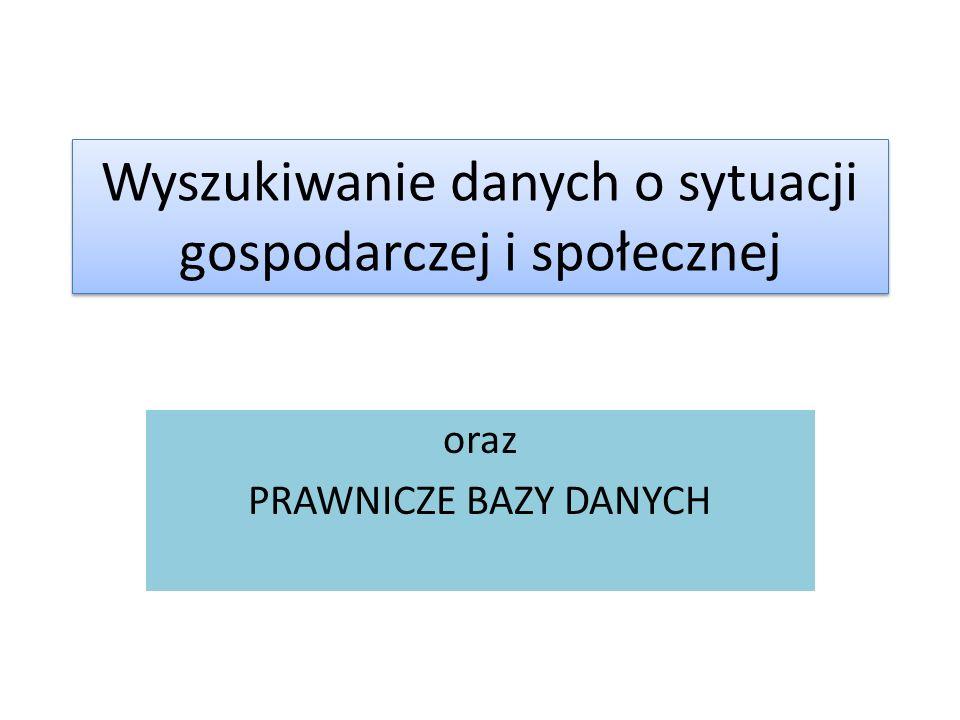 Serwis Sejmu RP Wyszukiwanie jest dość intuicyjne i podobne do poprzednio przedstawionego.