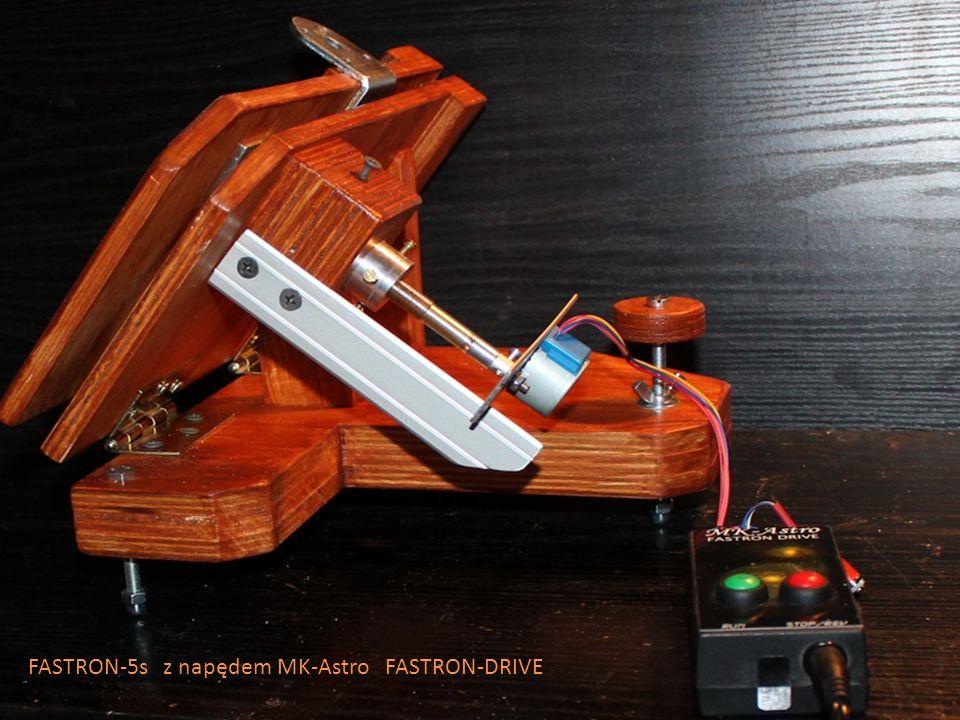 FASTRON-5s z napędem MK-Astro FASTRON-DRIVE