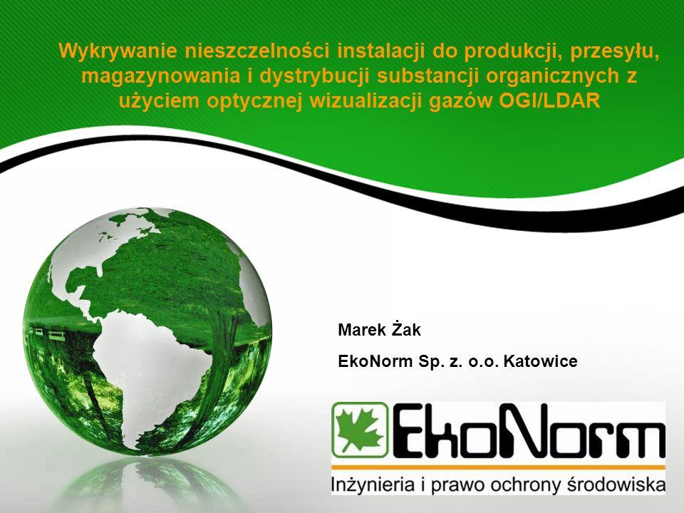 Wykrywanie nieszczelności instalacji do produkcji, przesyłu, magazynowania i dystrybucji substancji organicznych z użyciem optycznej wizualizacji gazó