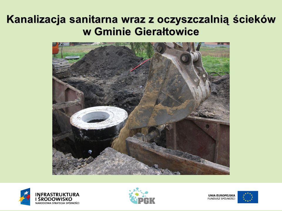 Wiosną 2011 roku tempa nabrały prace związane z budową oczyszczalni ścieków w Przyszowicach.