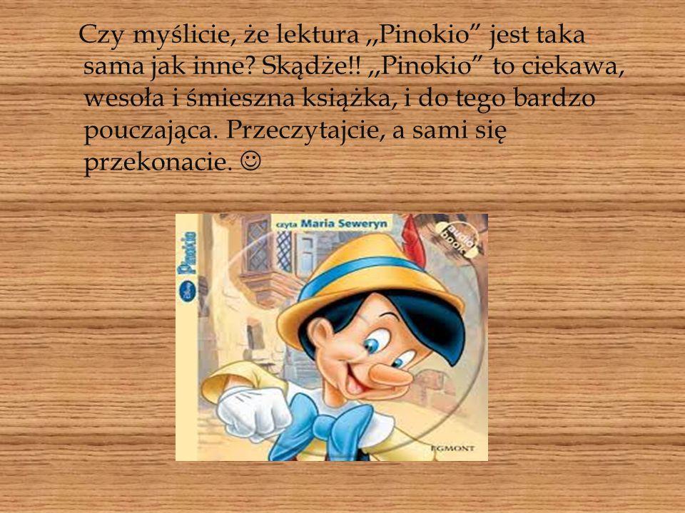 Pomyślcie sami, czy wiecie wszystko o Pinokio i jego przygodach.