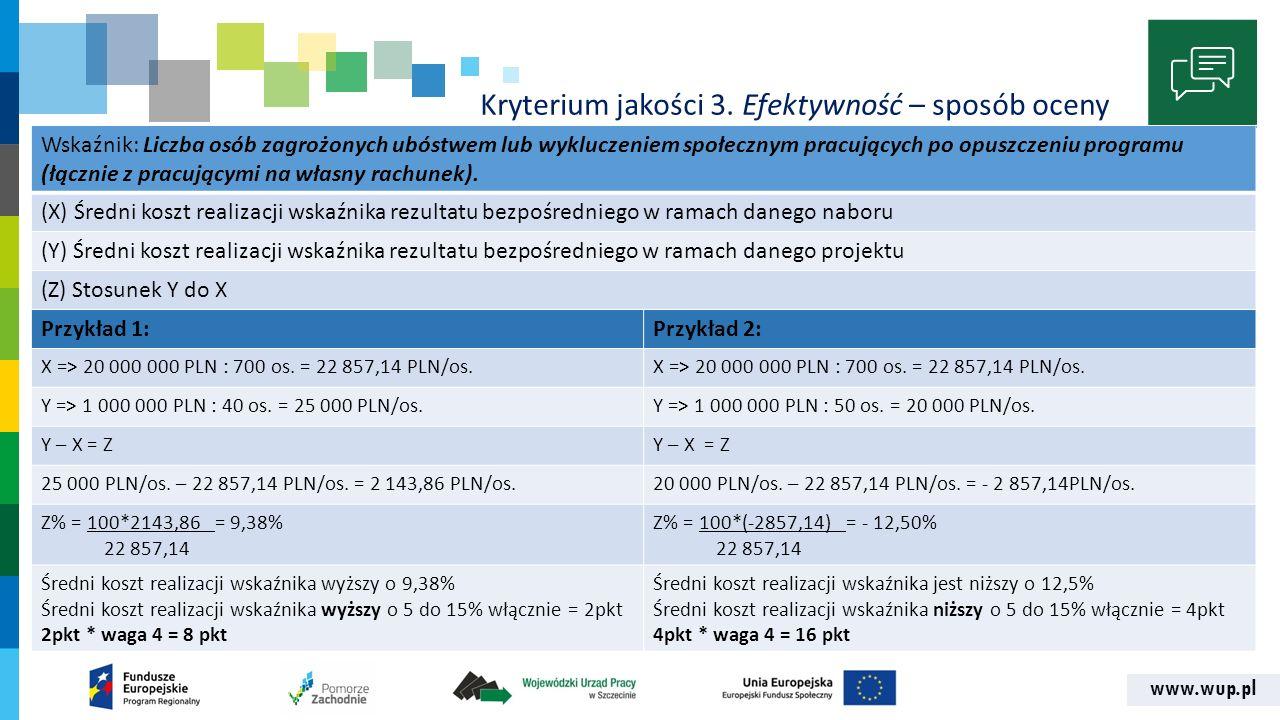 www.wup.pl Kryterium jakości 3.