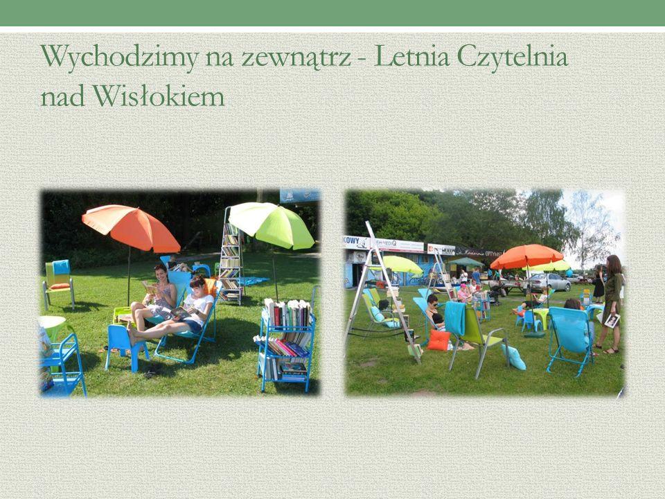 Wychodzimy na zewnątrz - Letnia Czytelnia nad Wisłokiem