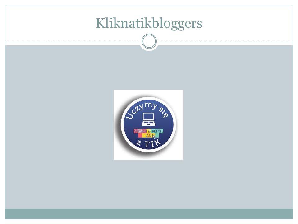 Blogi nauczycielskie Powstały również blogi nauczycielskie, które prowadziły nauczycielki: Małgorzata Lipińska http://blogiceo.nq.pl/kliknatik/ Anna Załęcka http://blogiceo.nq.pl/annazalecka/ Marta Drobniewska http://blogiceo.nq.pl/knowledge/