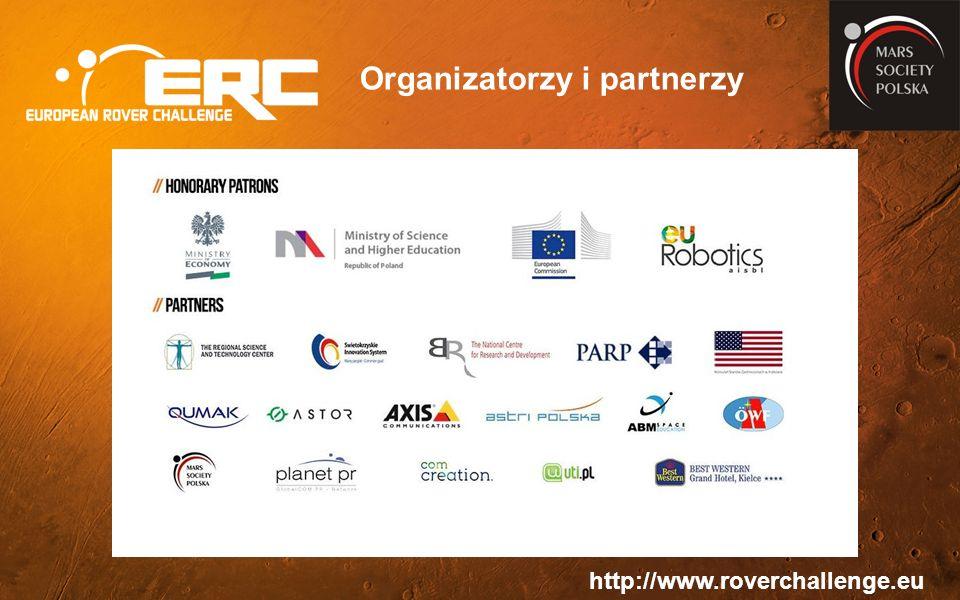 http://www.roverchallenge.eu Organizatorzy i partnerzy