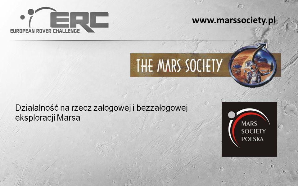 www.marssociety.pl Działalność na rzecz załogowej i bezzałogowej eksploracji Marsa