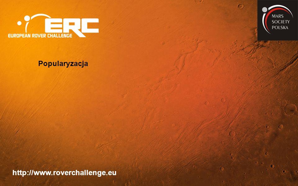 http://www.roverchallenge.eu Popularyzacja