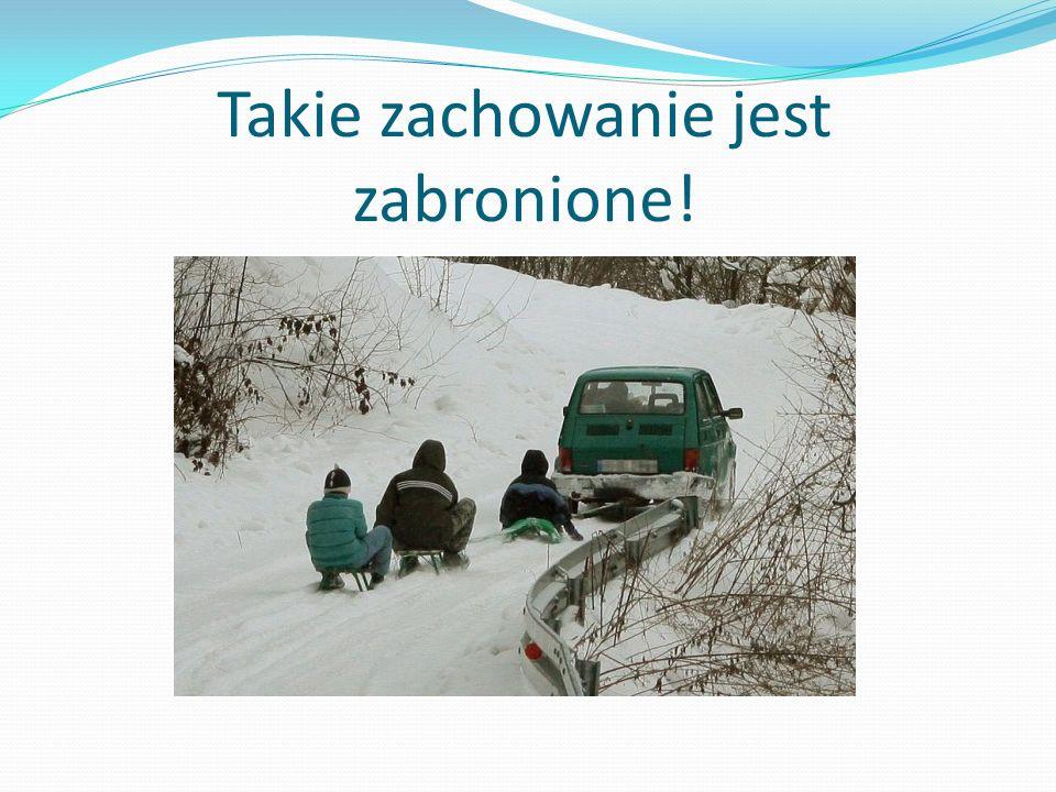 Łyżwy tylko na lodowisku… Pamiętaj, żeby jeździć na łyżwach tylko w bezpiecznym miejscu.