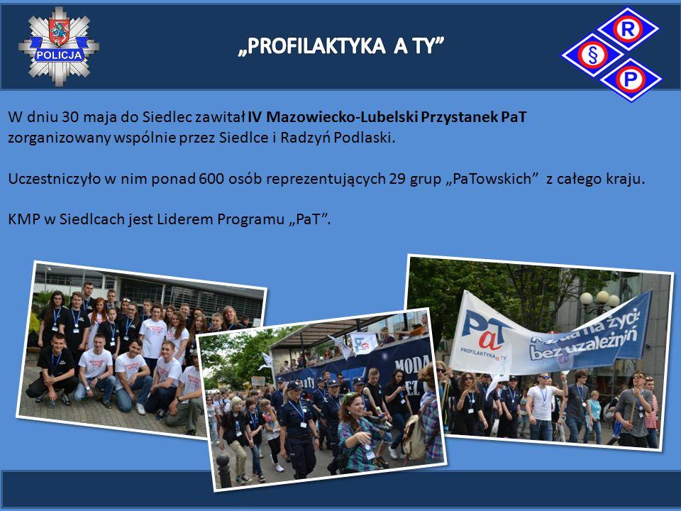 W dniu 30 maja do Siedlec zawitał IV Mazowiecko-Lubelski Przystanek PaT zorganizowany wspólnie przez Siedlce i Radzyń Podlaski.