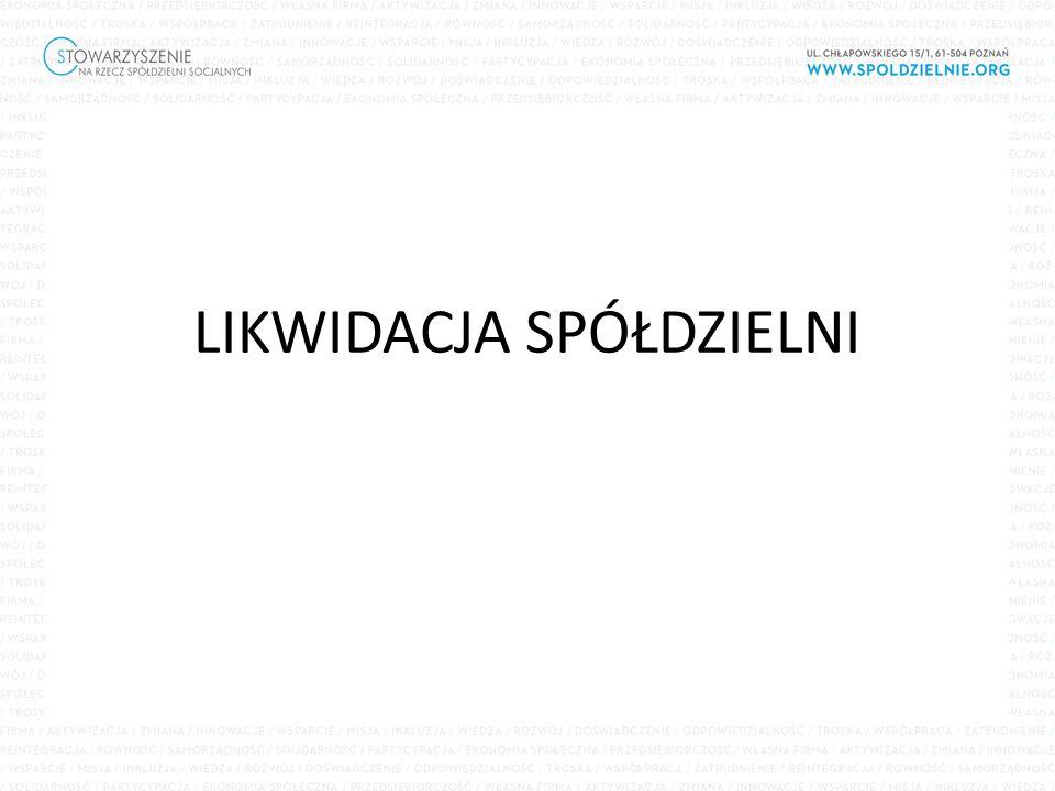 Art.126. [Sprawozdanie likwidatora] § 1.