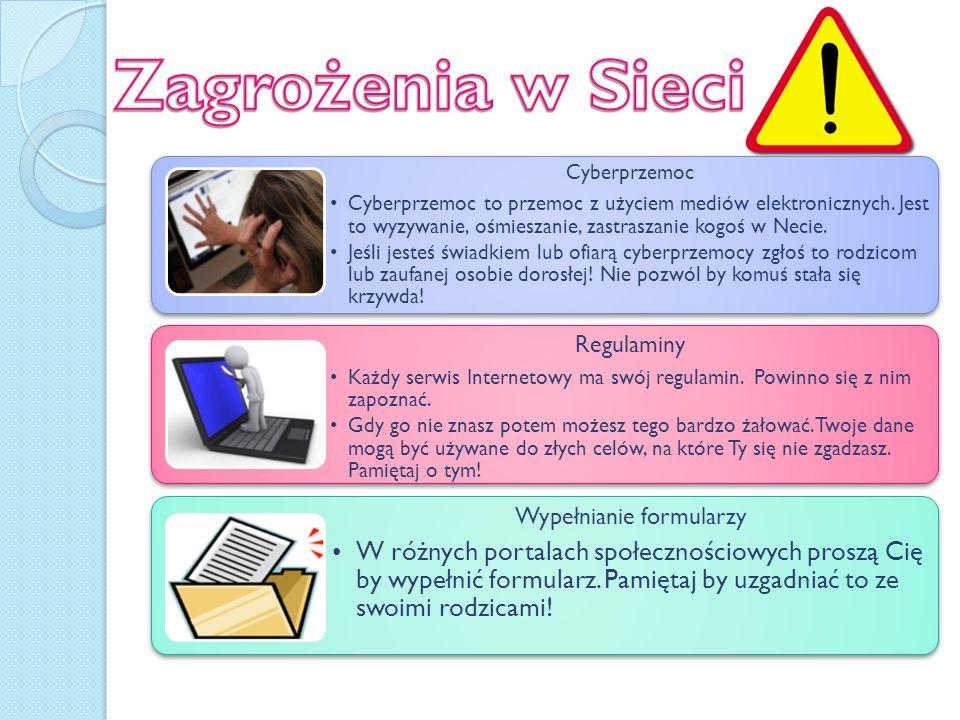 Uzależnienia Pamiętaj by bez przesady korzystać z Internetu i Komputera.