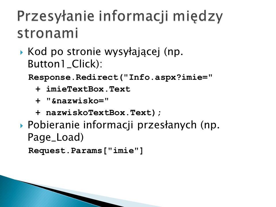  Kod po stronie wysyłającej (np.