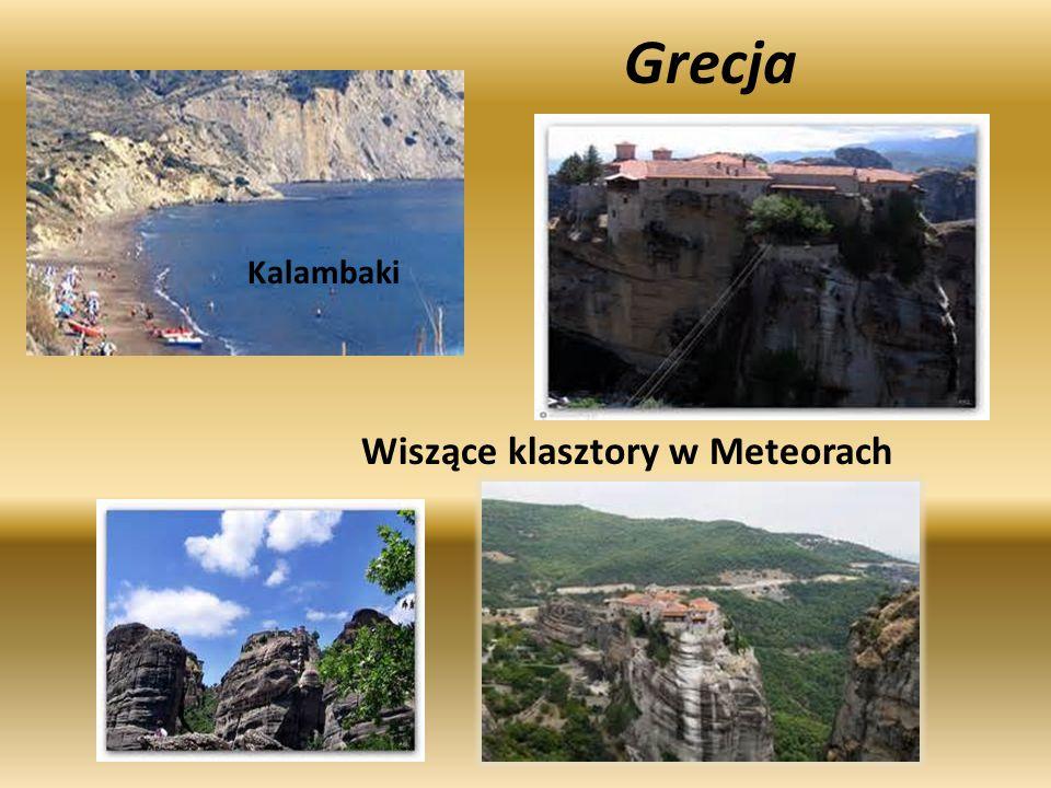 Kalambaki Wiszące klasztory w Meteorach Grecja