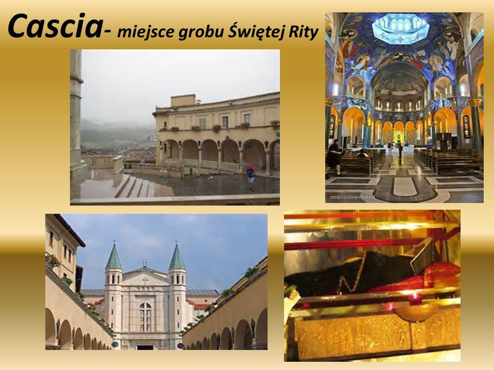 Cascia - miejsce grobu Świętej Rity
