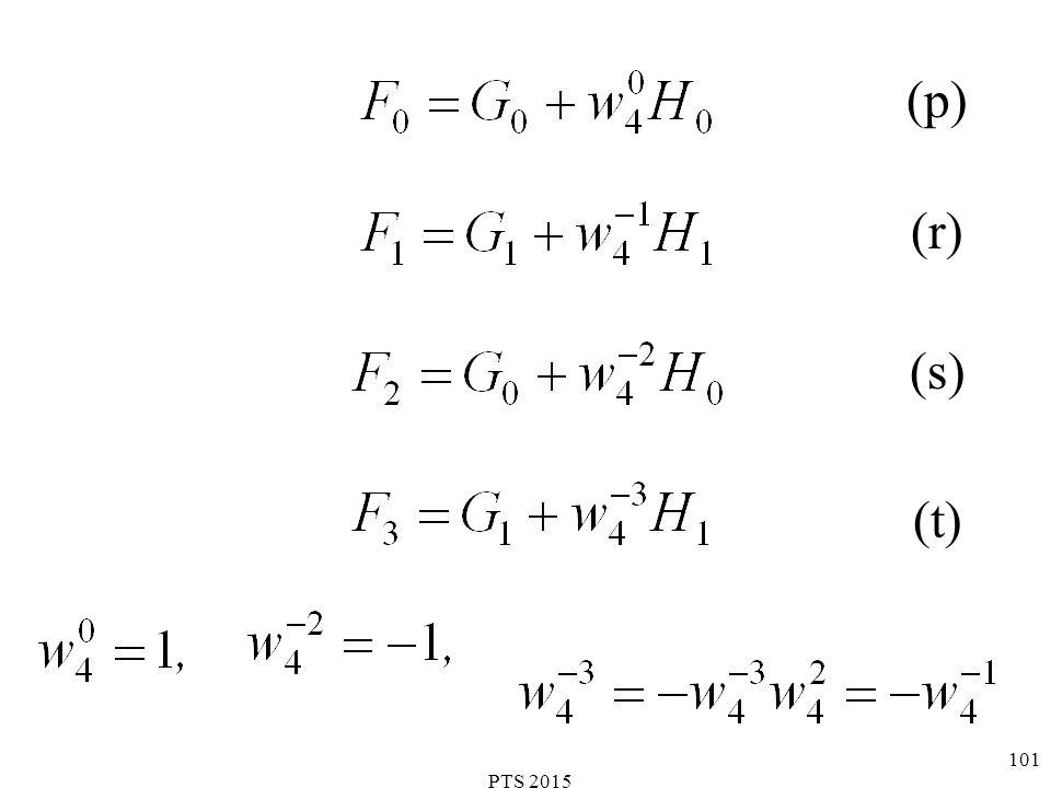 PTS 2015 102 (u) (v) (w) (x)