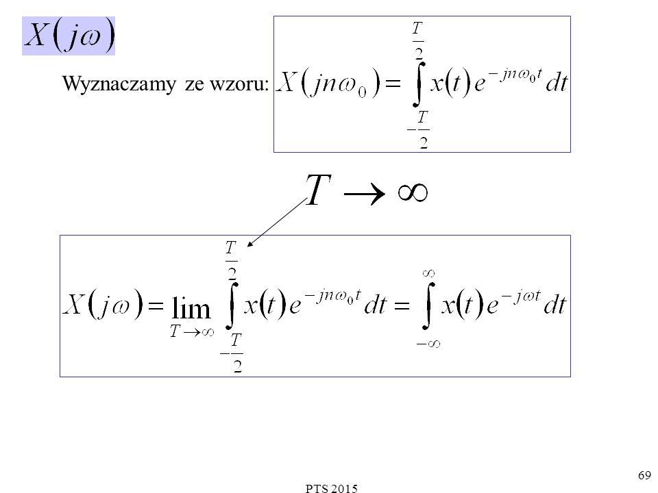 PTS 2015 70 stanowią parę przekształceń Fouriera.