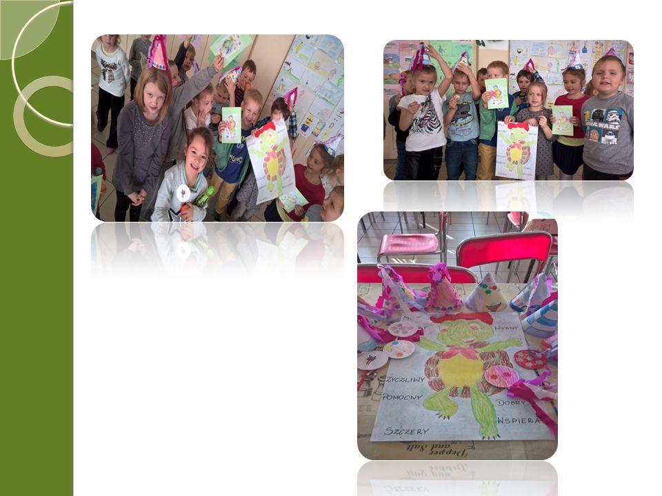 Wybór różnorodnych technik i materiałów plastycznych uatrakcyjnił zajęcia, uruchomił wyobraźnię i umiejętności dzieci, co znalazło odzwierciedlenie w ich pracach.