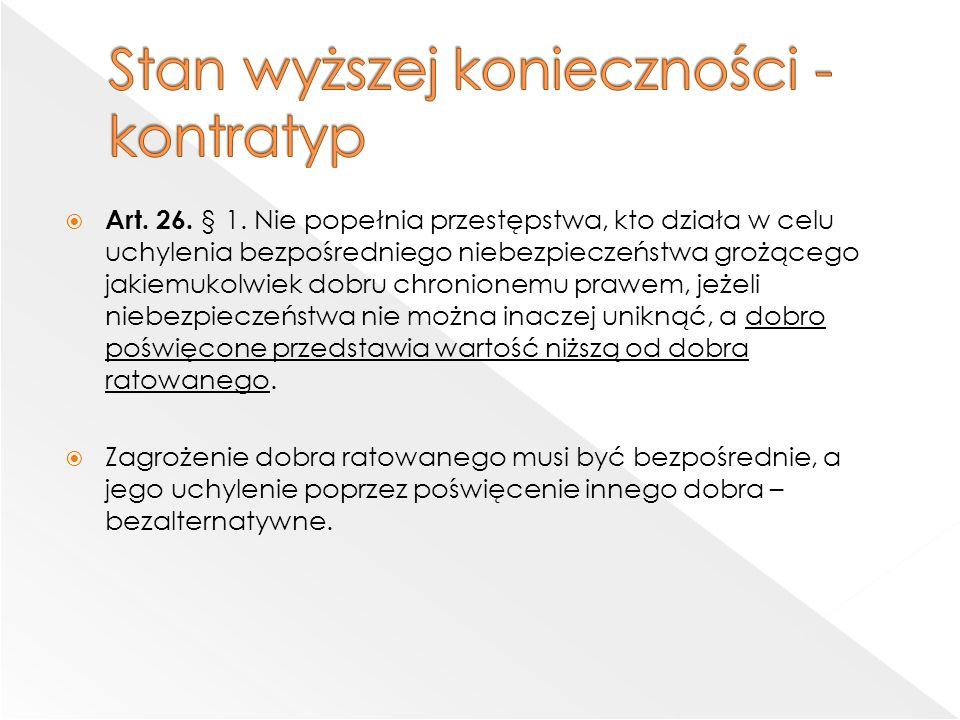  Art. 26. § 1.
