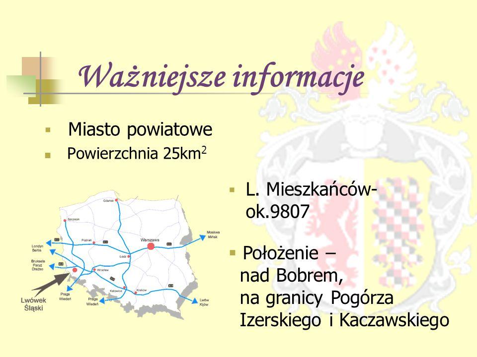 Ciekawsze fakty Jedno z najstarszych miast dolnego śląska Tu odbył się pierwszy na Śląsku turniej rycerski Znajduje się tu przypuszczalnie najstarszy browar w Polsce Ratusz lwówecki jest drugi co do wartości na dolnym śląsku