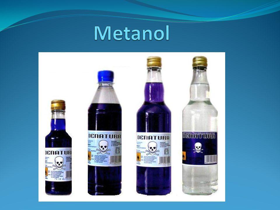 - Alkohol metylowy CH3OH, jest pierwszym członem szeregu homologicznego alkoholi.