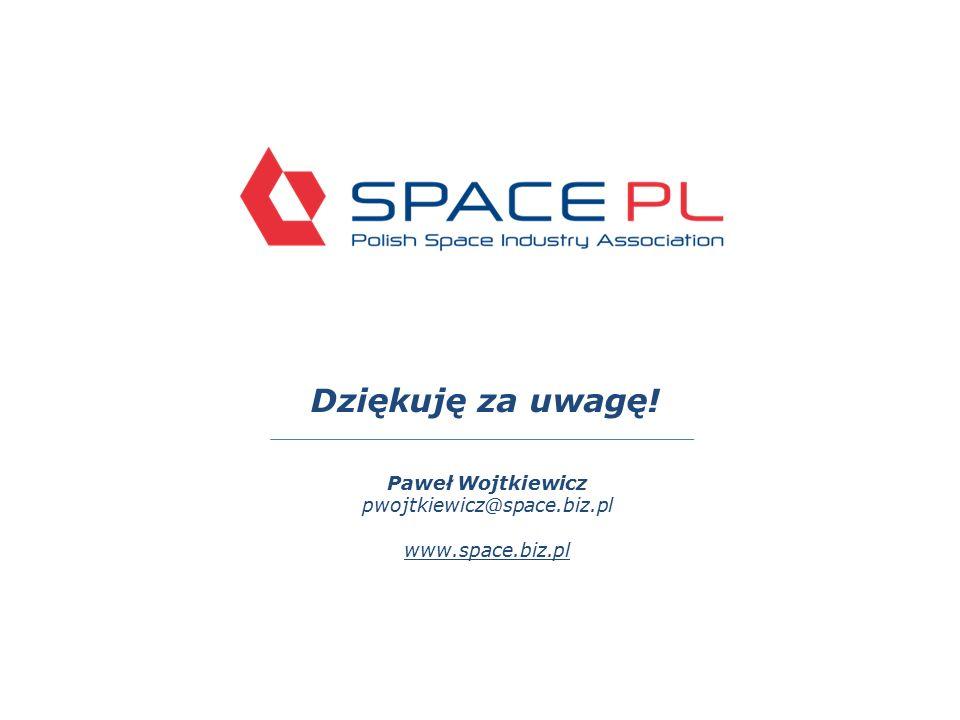 Dziękuję za uwagę! Paweł Wojtkiewicz pwojtkiewicz@space.biz.pl www.space.biz.pl