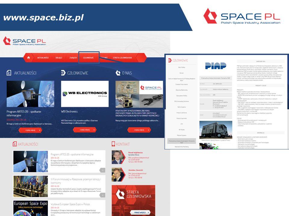 Polski sektor kosmiczny 14/11/2014ZPSK 9