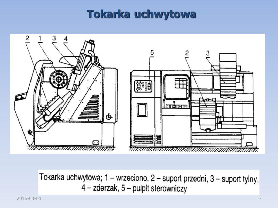 2016-03-047 Tokarka uchwytowa
