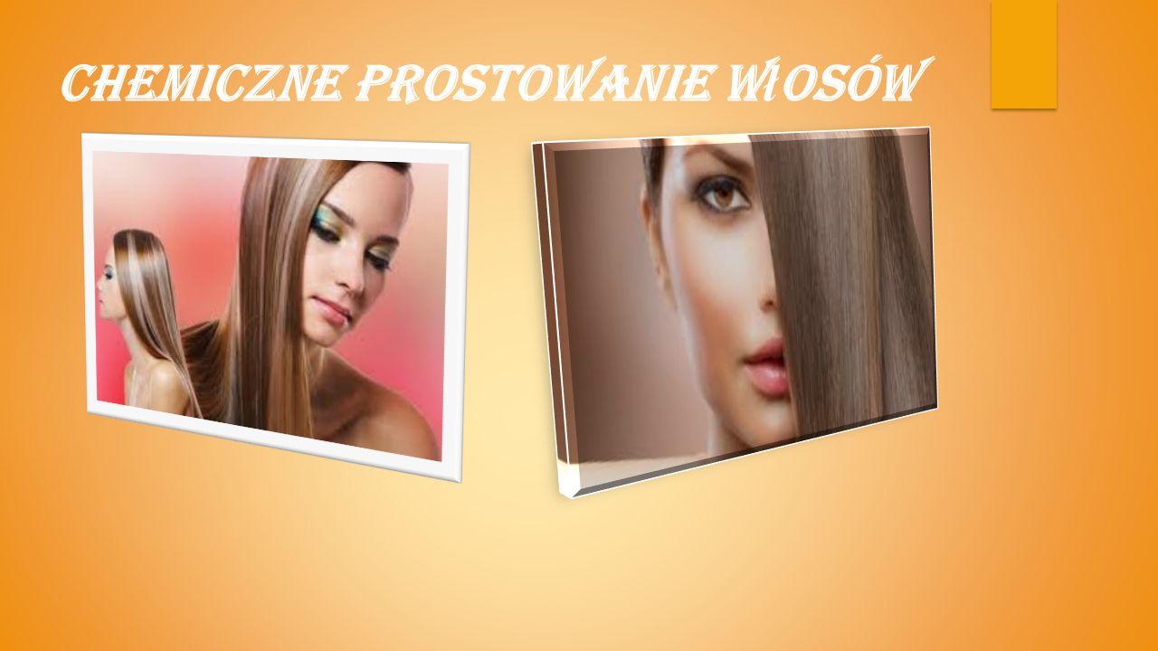Technologiczny przebieg prostowania włosów: I.Operacje przygotowawcze: 1.