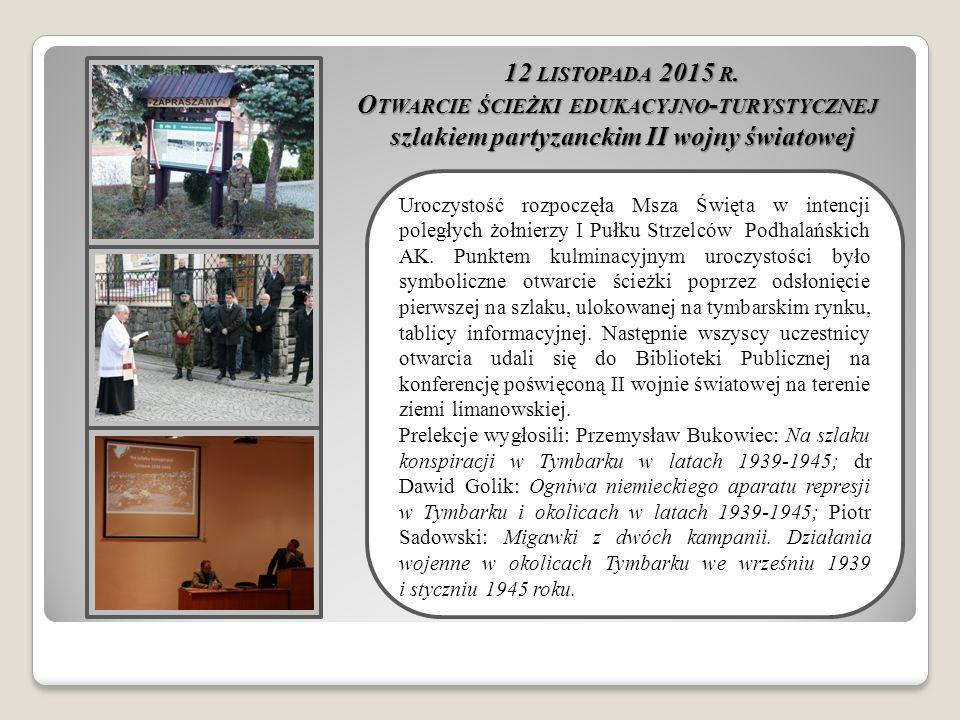 12 LISTOPADA 2015 R.