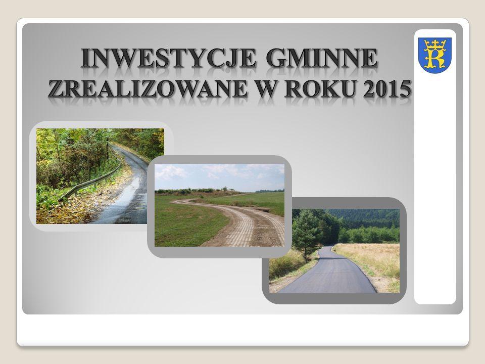 Inwestycję zrealizowano w ramach programu Urzędu Marszałkowskiego: Jakość życia na obszarach wiejskich i różnicowanie gospodarki wiejskiej (działanie 321.